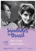"""MÚSICA: """"Saudades do Brasil"""" – Vânia Conde & Gabriel Godoi"""