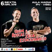 ESPECTÁCULOS: Quim Roscas & Zeca Estacionâncio