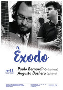 """MÚSICA: """"Êxodo"""" - Paulo Bernardino & Augusto Baschera"""