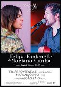 MÚSICA: Felipe Fontenelle & Mariana Cunha, João Rato (convidado)