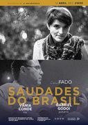 """MÚSICA: """"Saudades do Brasil""""  - Vânia Conde & Gabriel Godoi - Concerto """"IN FADO"""""""