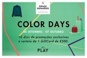 PROMOÇÕES: Color Days