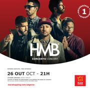 MÚSICA: HMB no 1º aniversário do MAR Shopping Algarve