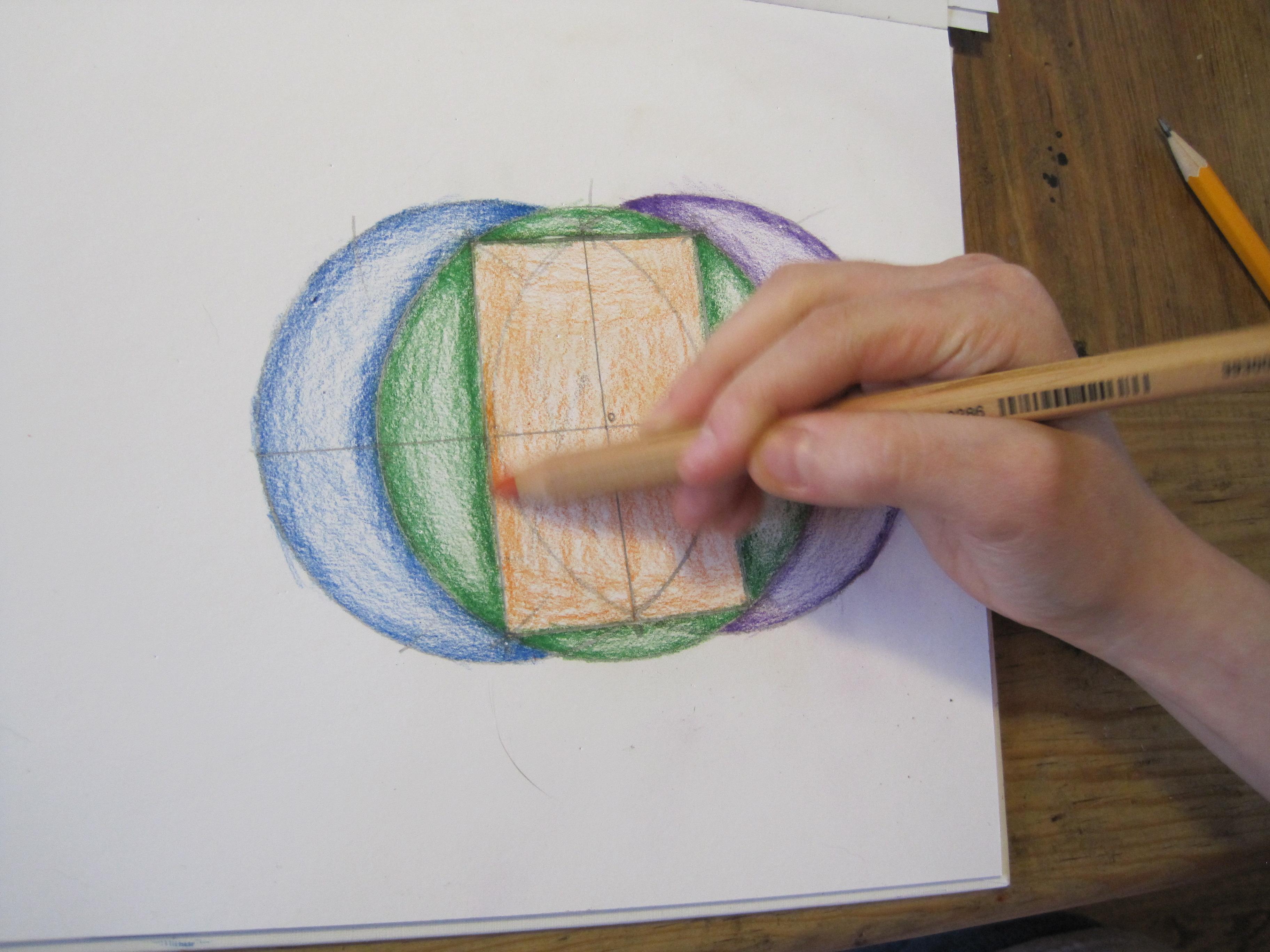 Sacred Geometry - Root Three Rectangle
