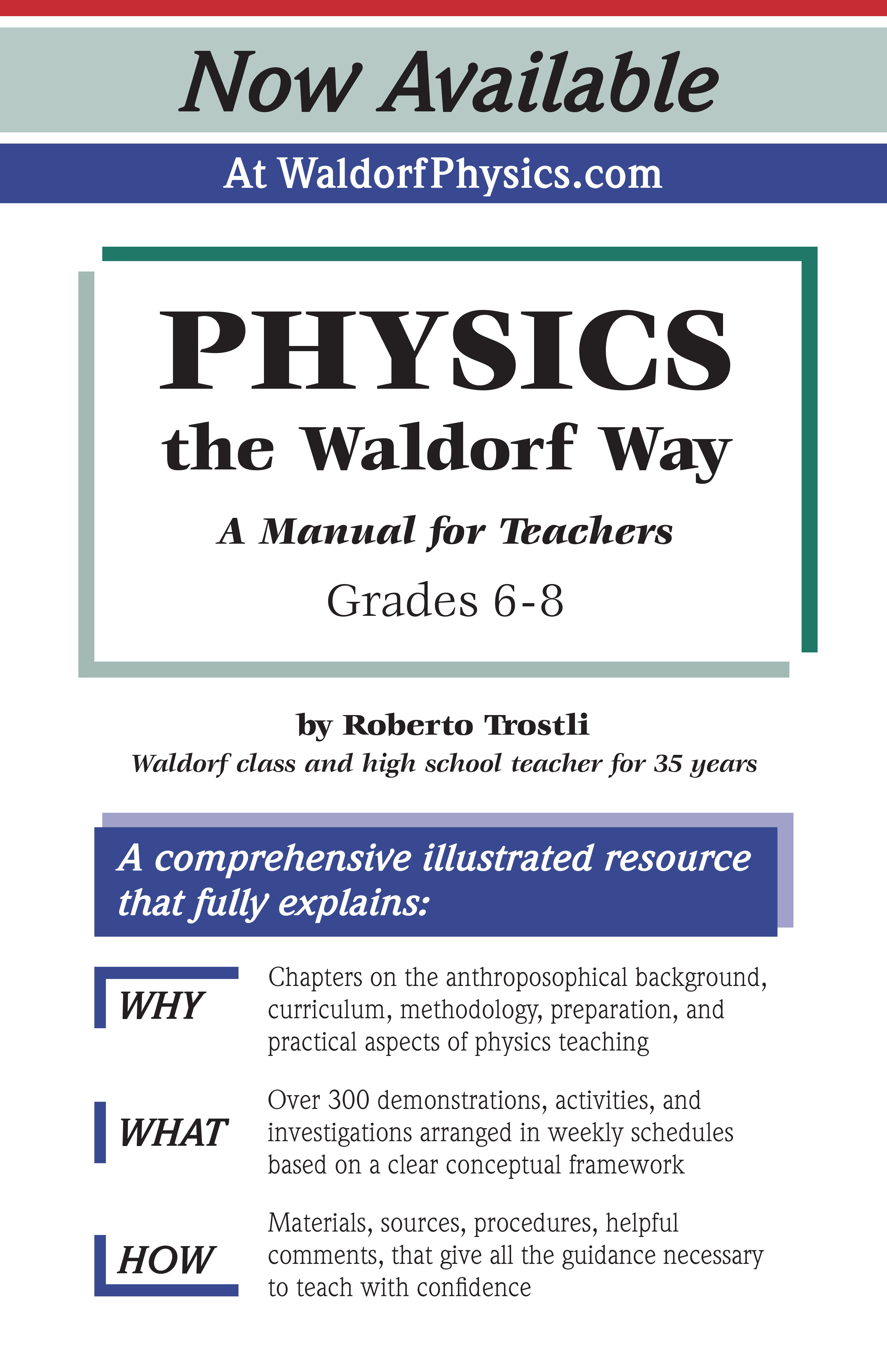 Announcing a new resource for teaching Physics