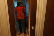 All red crips outfit of the day