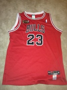 Authentic pro cut MJ 97-98 NBA finals jersey