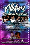 All-StarZ Caribbean After Work Thursdays at Kombit Bar & Restaurant - FREE ADMISSION!