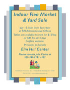 Indoor Yard Sale & Flea Market