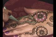 Winter and Holiday Henna at Hitchcock Free Academy!