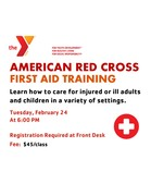 First Aid Training at the Y
