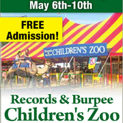 Records & Burpee Traveling Children's Zoo
