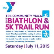 Biathlon & 5K trail Run