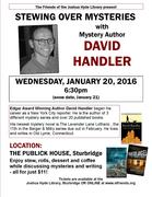 Stewing Over Mysteries: Author David Handler