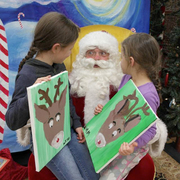 PAINT WITH SANTA!