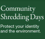 Hometown Bank's Community Shred Day
