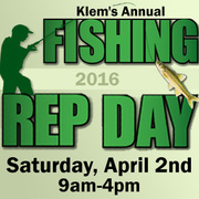 Klem's Annual Fishing Rep Day
