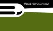 Table 3 Restaurant Group Prix-Fixe Restaurant Week