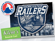 Rewards Night at the Worcester Railers