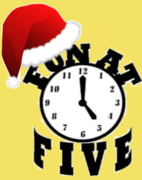Holiday Fun at Five!