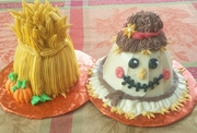Scarecrow & Haystack Cake Decorating Class