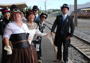 Steamtrain event gumboot day