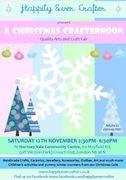 Christmas Crafternoon - Hornsey Vale Community Centre Weston Park Sat 12th Nov