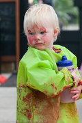 Messy Play for under 5s - Green Peas