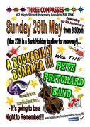 RockaBilly Bonanza!!! Sun 26th May @ The Three Compasses