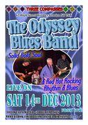 Odyssey Blues Band live @ Three Compasses