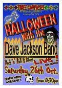 Halloween with the Dave Jackson Band