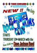 BRAND NEW - 3C's Rock 'n' Blues Club !!!