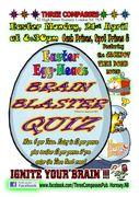 Easter Monday Brain Blaster Quiz