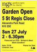 National Gardens Scheme  Event