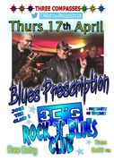 Live Music @ the 3C's Blues 'n' Rock Club