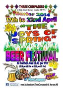 Easter Beer Festival @ the Three Compasses