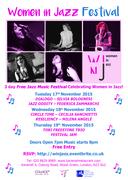 Women In Jazz - Free 3 Day Music Festival!
