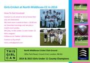 Girls Cricket Practice