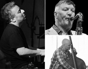 Jazz at Karamel: Stan Sulzmann, Jonathan Gee, Dave Whitford