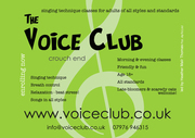 Voice Club Intro to Singing Technique (scaredy cats welcome!) course