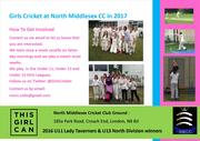 Girls Cricket Practices