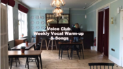 Weekly Singing Workout - Friday Morning Singing Technique for adults (6 weeks)