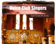 Voice Club Singers - Singing Technique Evening Class