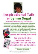 Women's Day Celebrations - Lynne Segal