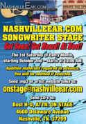 Nashville Ear Songwriter Stage Show