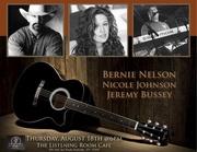 Bernie Nelson, Nicole Johnson and Jeremy Bussey