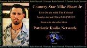 "LIVE web interview on the ""Patriotic Radio Network"""