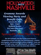 Hollywood Meets Nashville Grammy Viewing Party and Benefit Gala