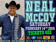 Neal McCoy At Dusty Armadillo Winter Concert Series