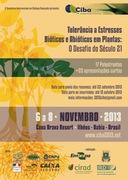 Workshop Internacional em Tolerância a Estresses Bióticos e Abióticos em Plantas: O Desafio do Século 21